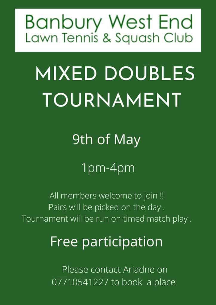 Mixed Double Tournament